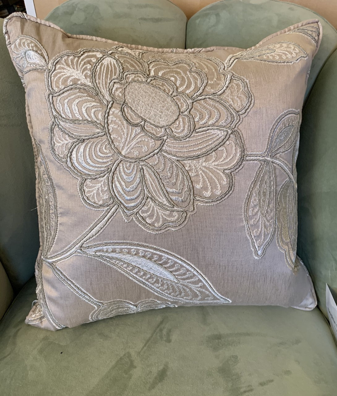 Silk art deco Aldeco Cushion