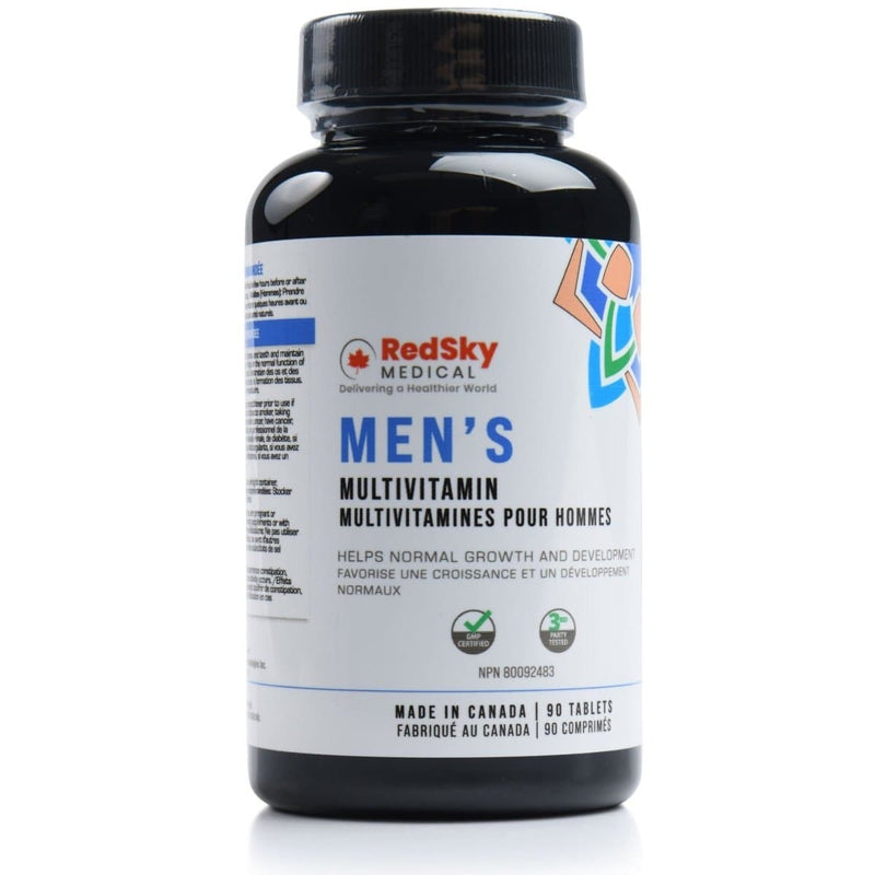 RedSky Multivitamin | Men | 90 tablets - RedSky Medical