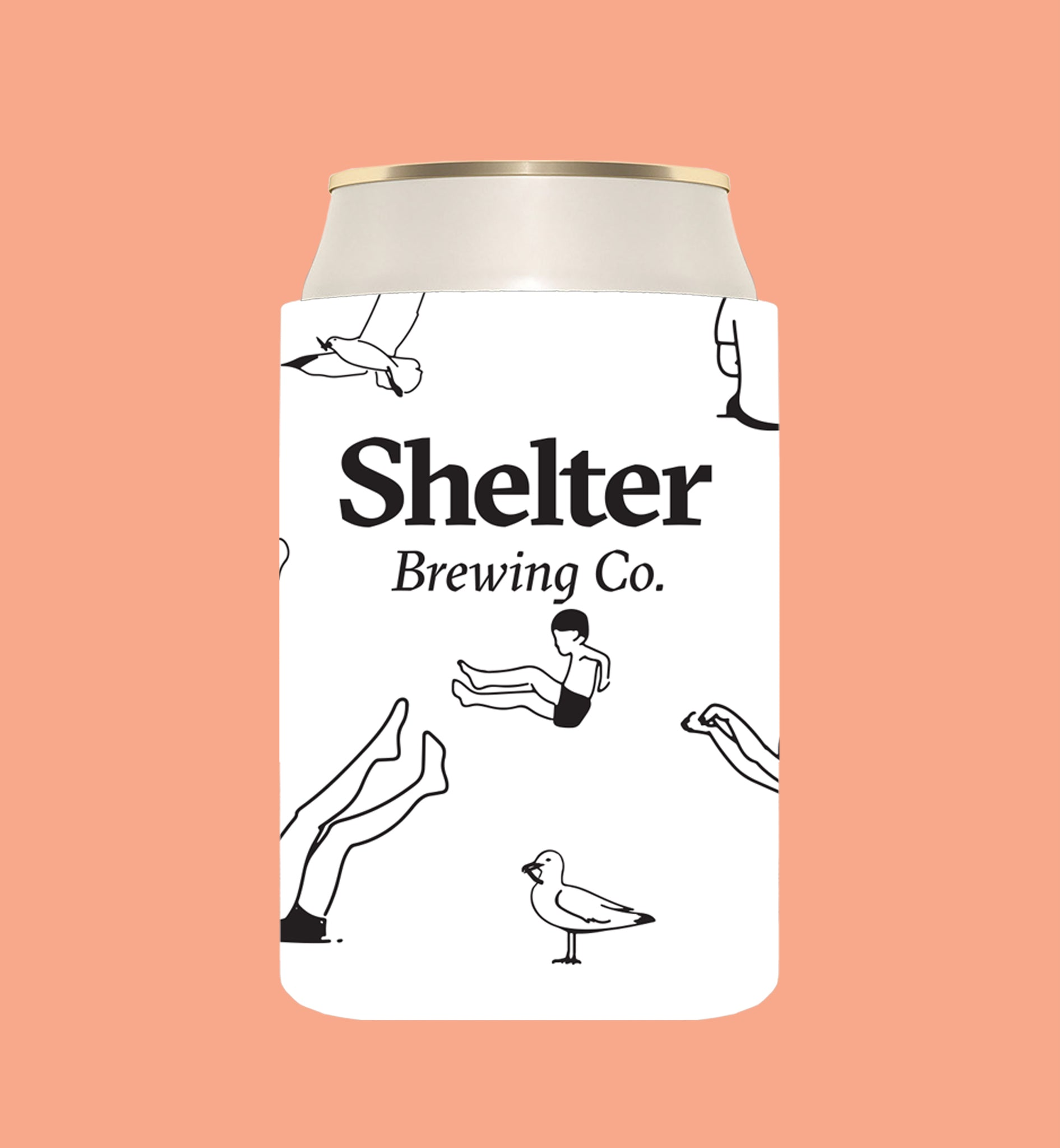 Shelter Stubby Holder