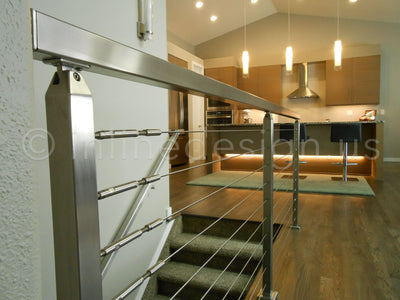 Press & Latch Cable Railing Used to Complete a Perfect Remodel