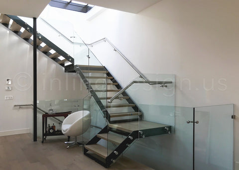 Glass Adapter Stair Railing