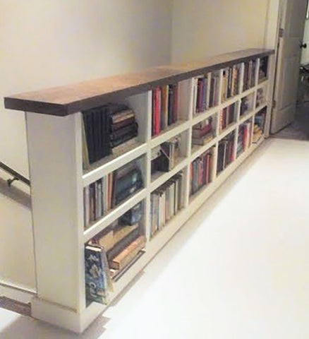 Bookcase Bannister