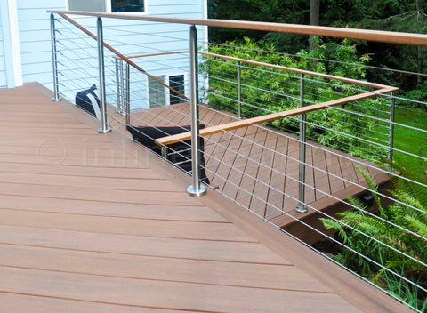 stainless steel wire railing