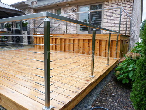 Cable railing ideas for you deck