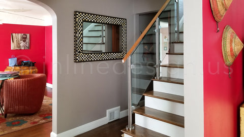VIRGINIA ROUND GLASS RAILING SYSTEM