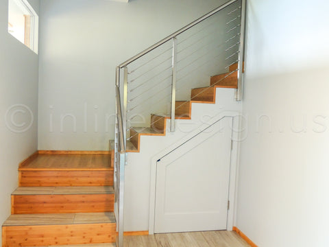 handrails with cables