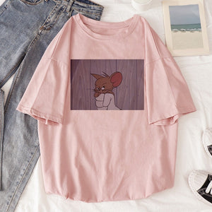 BLUSA FEMININA - TOM E JERRY
