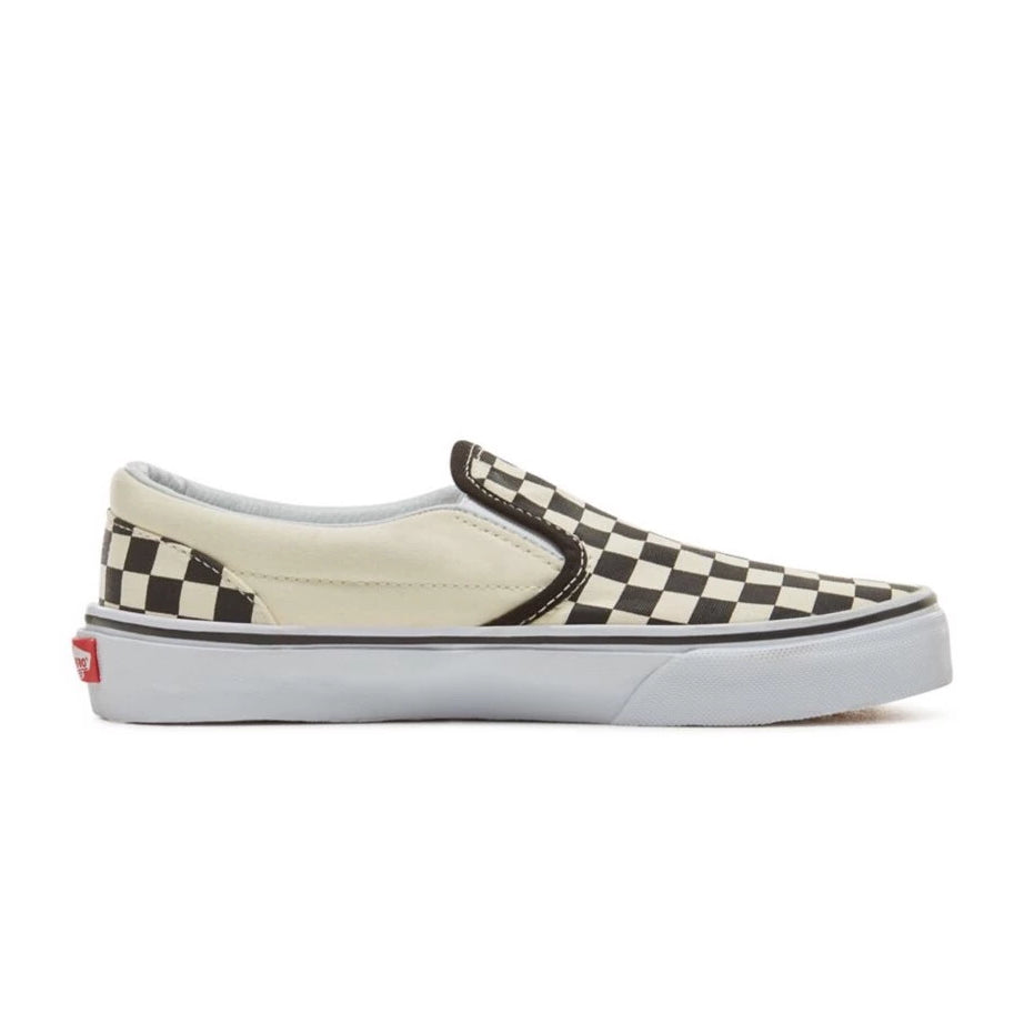 VANS Classic Slip-on - (Checkerboard) Black-White