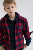 NEW DUSK Red Checks - Long Sleeve Shirt
