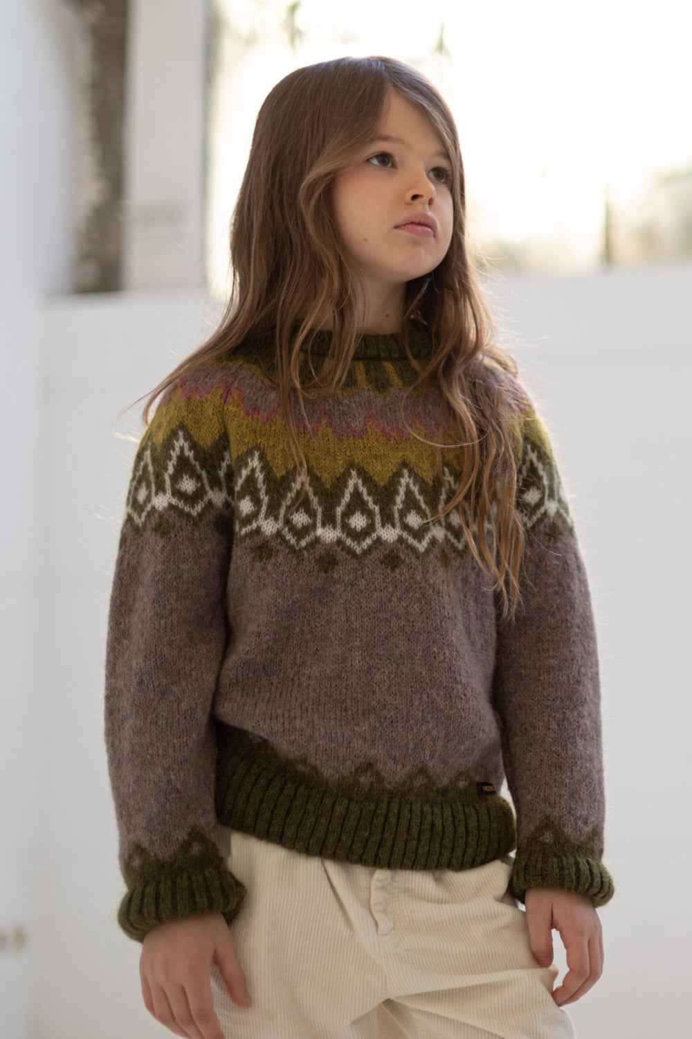 REILEY Mastic - Round Neck  jumper