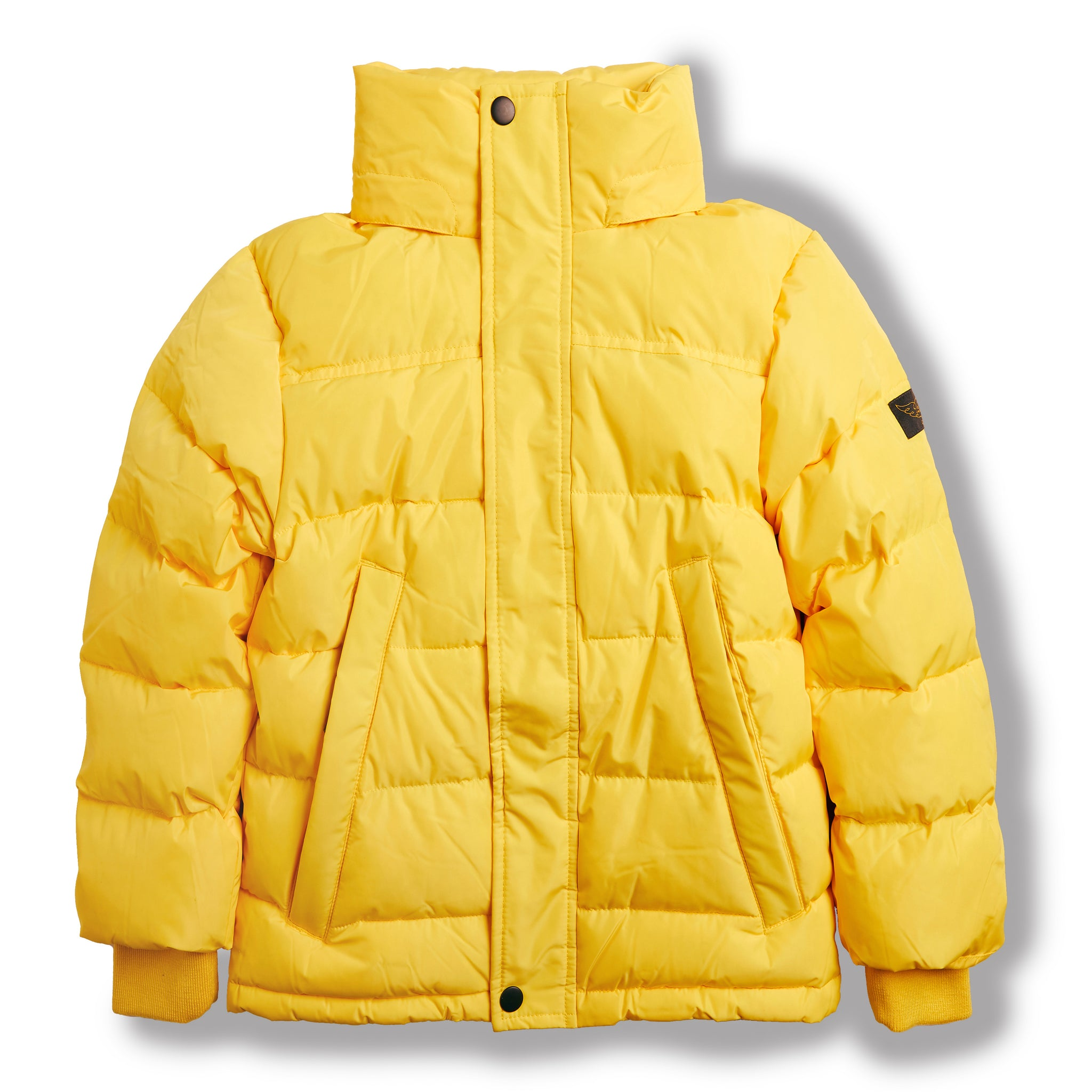 SNOWLYNX Yellow -  Woven Down Jacket