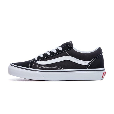 VANS OLD SKOOL - Black-True White