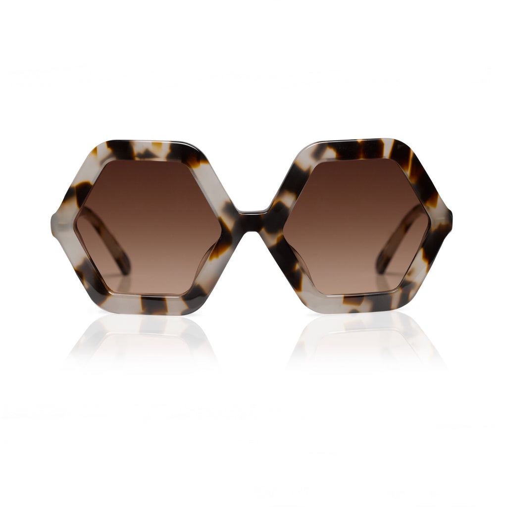 HONEY Cheetah Sunglasses - by SONS + DAUGHTERS Eyewear