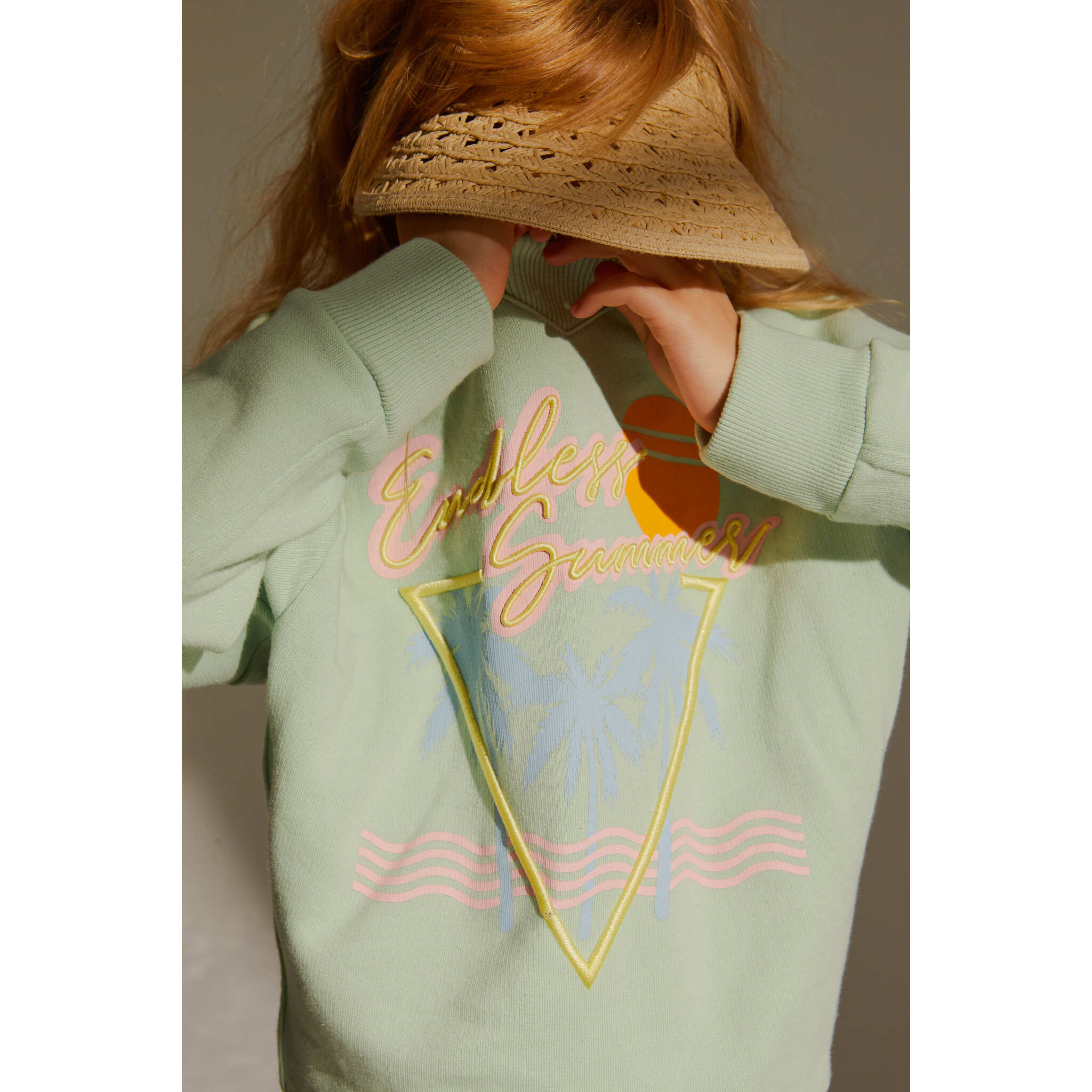 ACADEMY Almond Endless Summer -  Crew Neck Sweatshirt 2