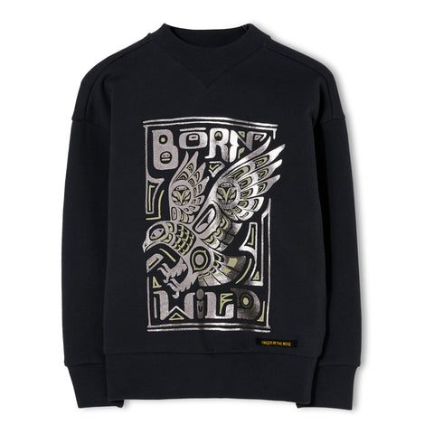 ACADEMY Ash Black Born Wild - Sweater 1