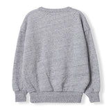 ACADEMY Heather Grey Stars -  Knitted Round Neck Sweatshirt 2