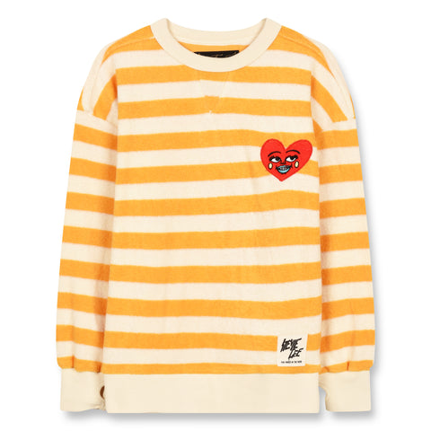 ACADEMY Mandarin Stripes - Round Neck Sweatshirt 1