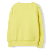 ACADEMY Yellow EU -  Woven Knitted Neck Sweatshirt 3