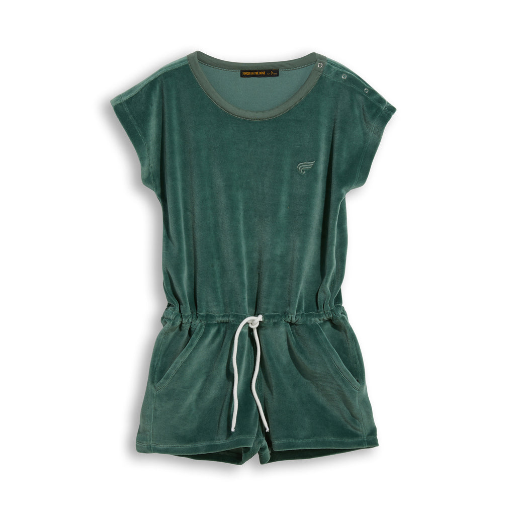 AILEEN Green Khaki -  Short Jumpsuit 1