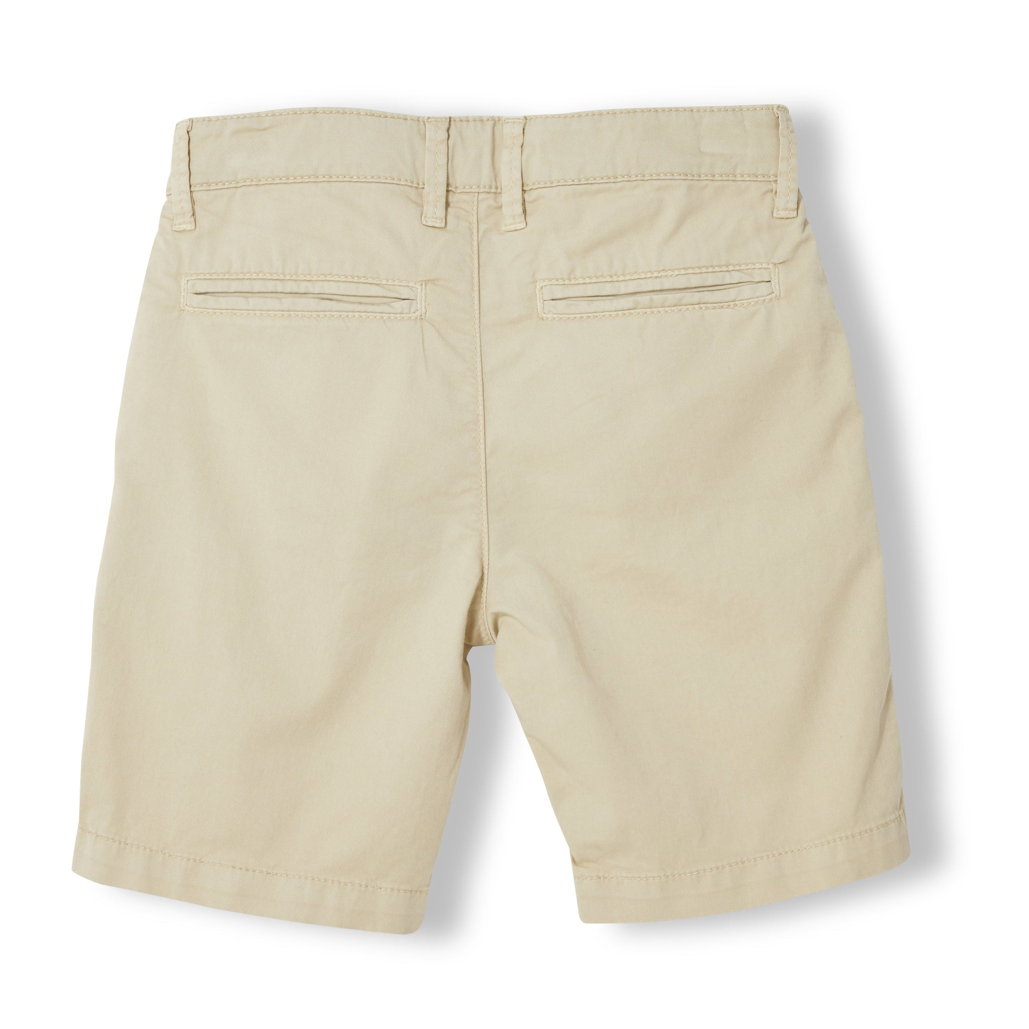ALLEN Beige - Boy Woven Chino Fit Bermudas  Shorts 2