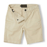 ALLEN Beige - Boy Woven Chino Fit Bermudas  Shorts 3