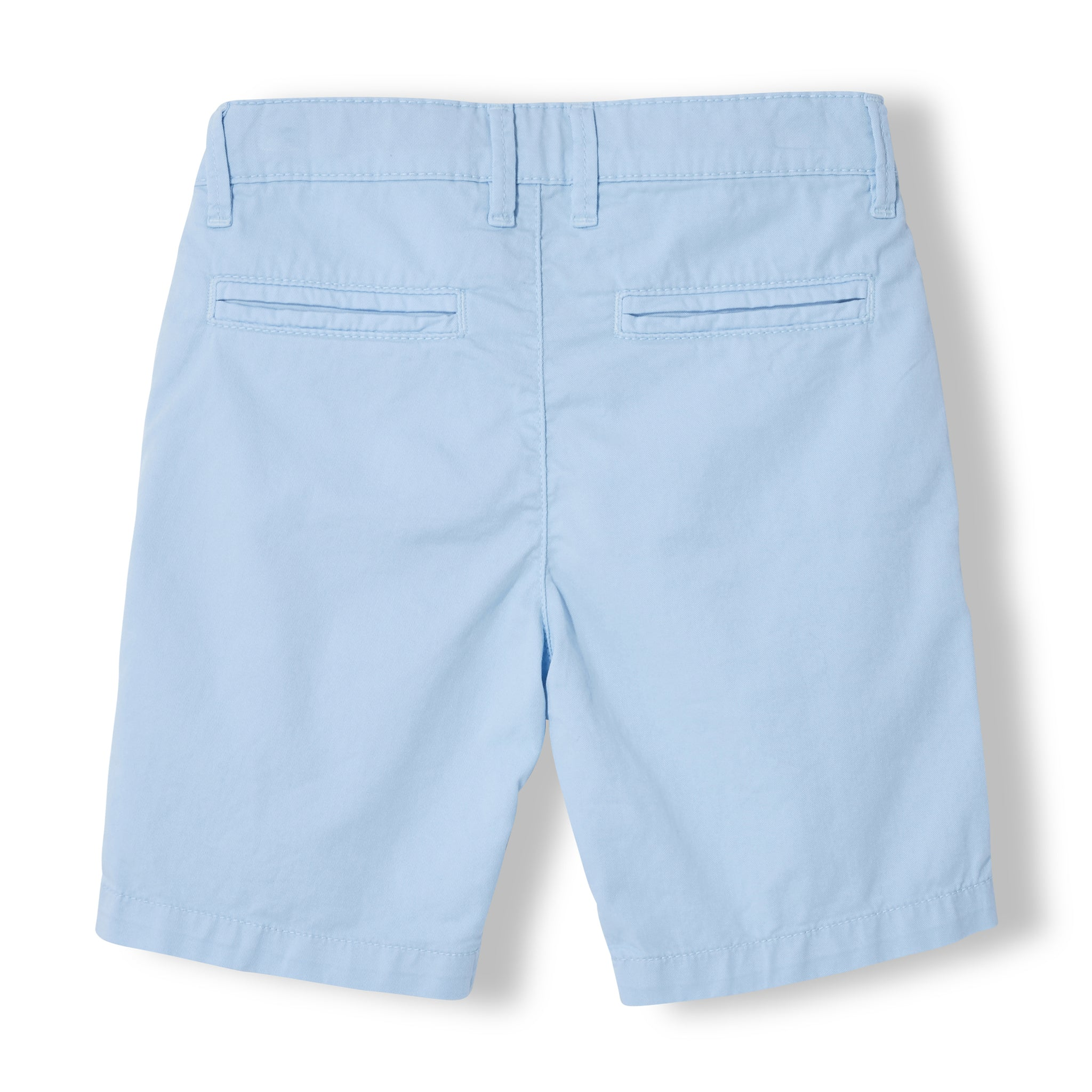 ALLEN Milky Blue - Boy Woven Chino Fit Bermuda  Shorts 2
