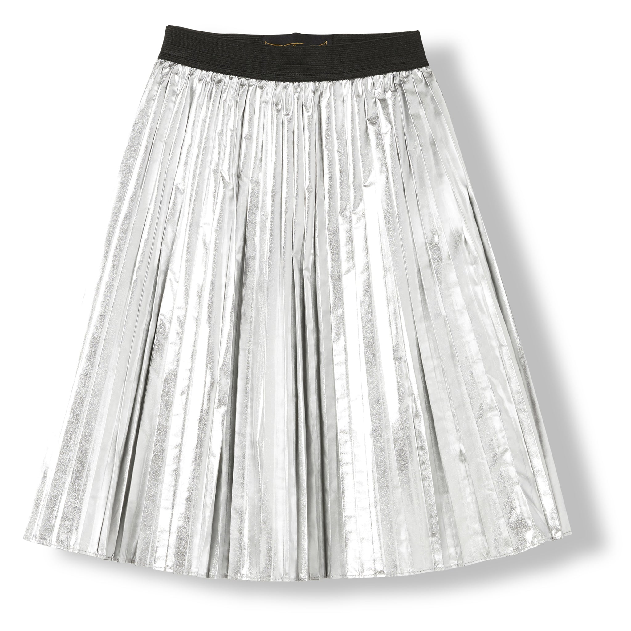 AMERY Silver -  Woven Pleated Skirt 1