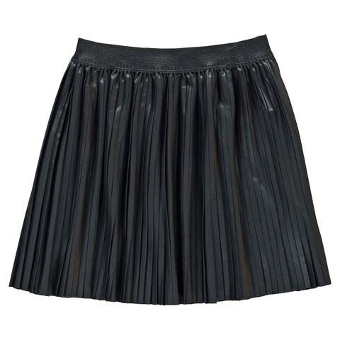 AMY Black - Pleated Skirt