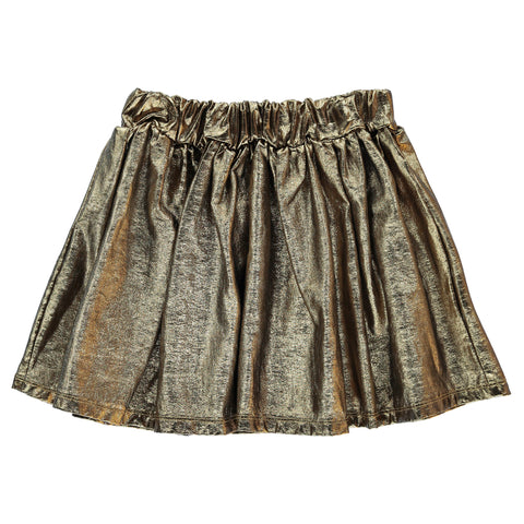 ANNIX Gold Metal - Lamé Skirt
