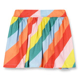 ANNIX Multicolor Stripes - Jersey Mini Skirt 2