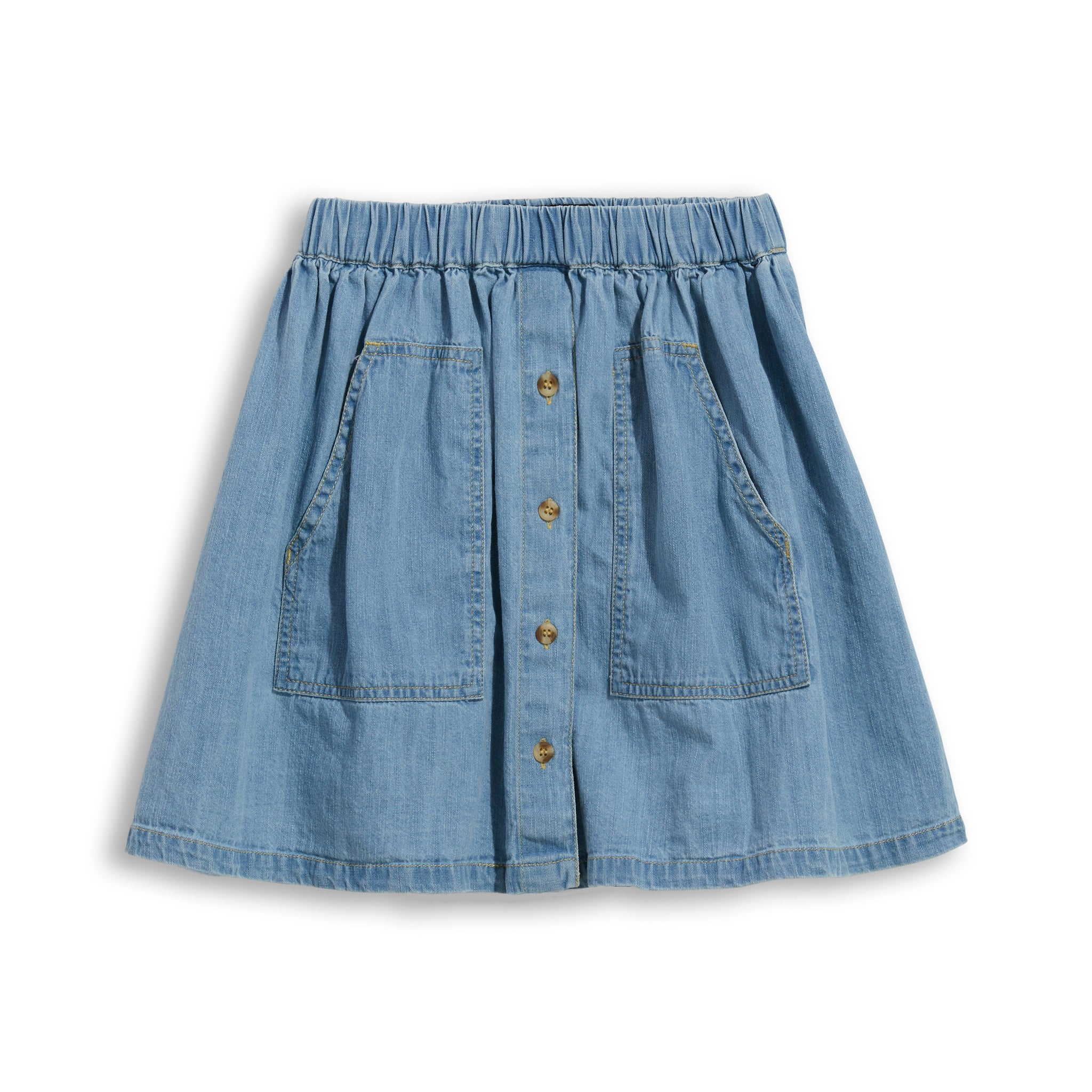 ASHBY Bleached Blue - Denim Skirt 1