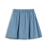 ASHBY Bleached Blue - Denim Skirt 2