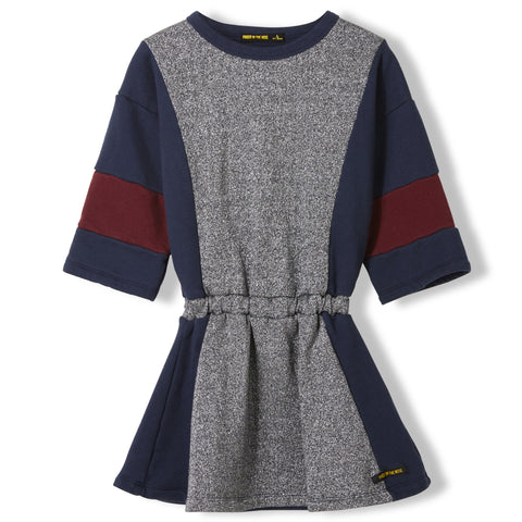 AWARD Glitter Colorblock -  Knitted Dress 1
