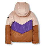 SNOWDANCE Light Pink - Reversible Down Jacket