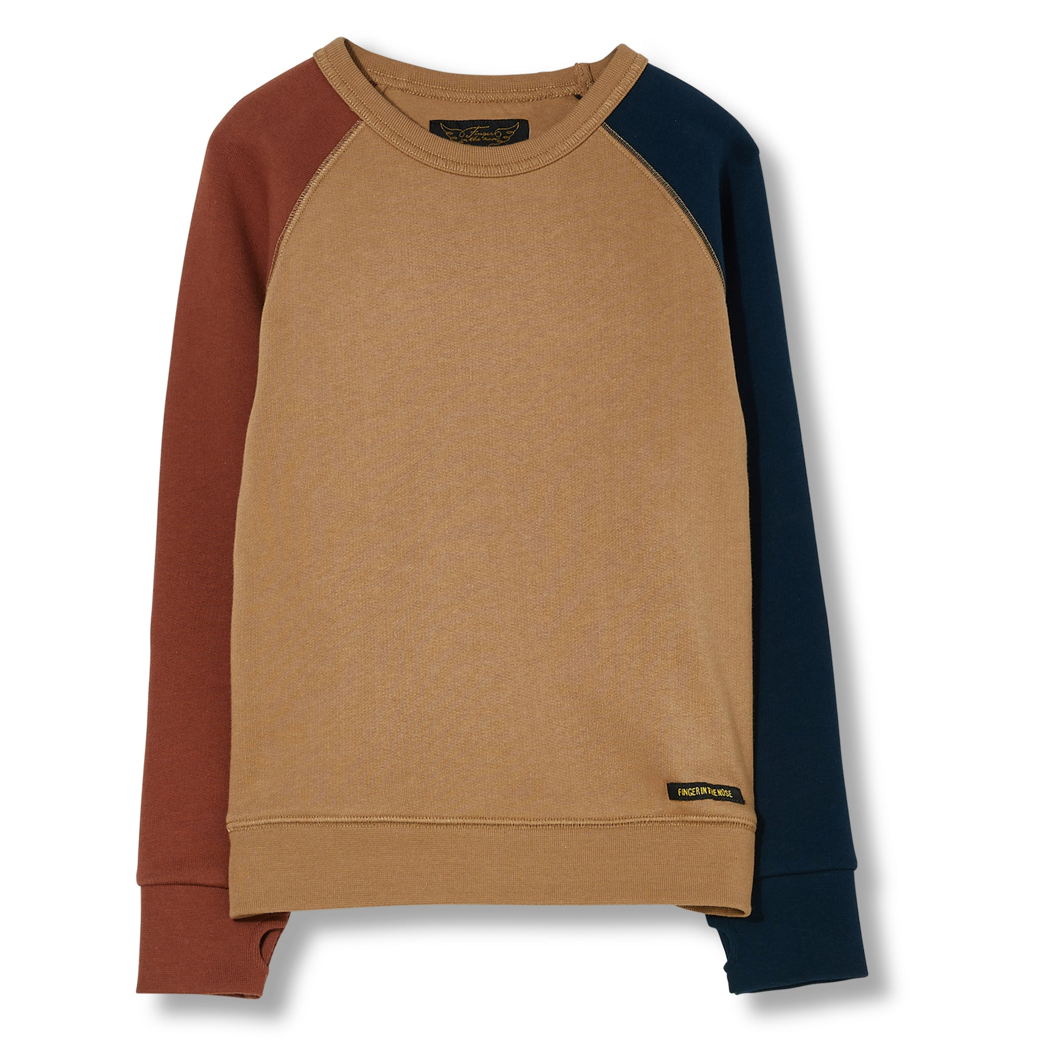 HANK Beige - Crew Neck Sweater