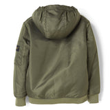 BALTIMORE City Khaki - Woven Hooded Jacket
