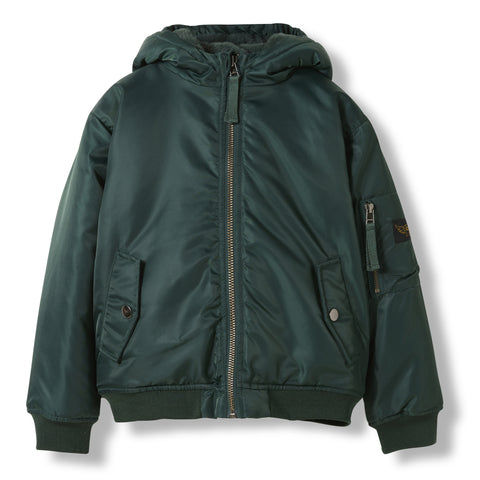 BALTIMORE College Green -  Woven Hooded Jacket 1