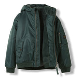 BALTIMORE College Green -  Woven Hooded Jacket 3