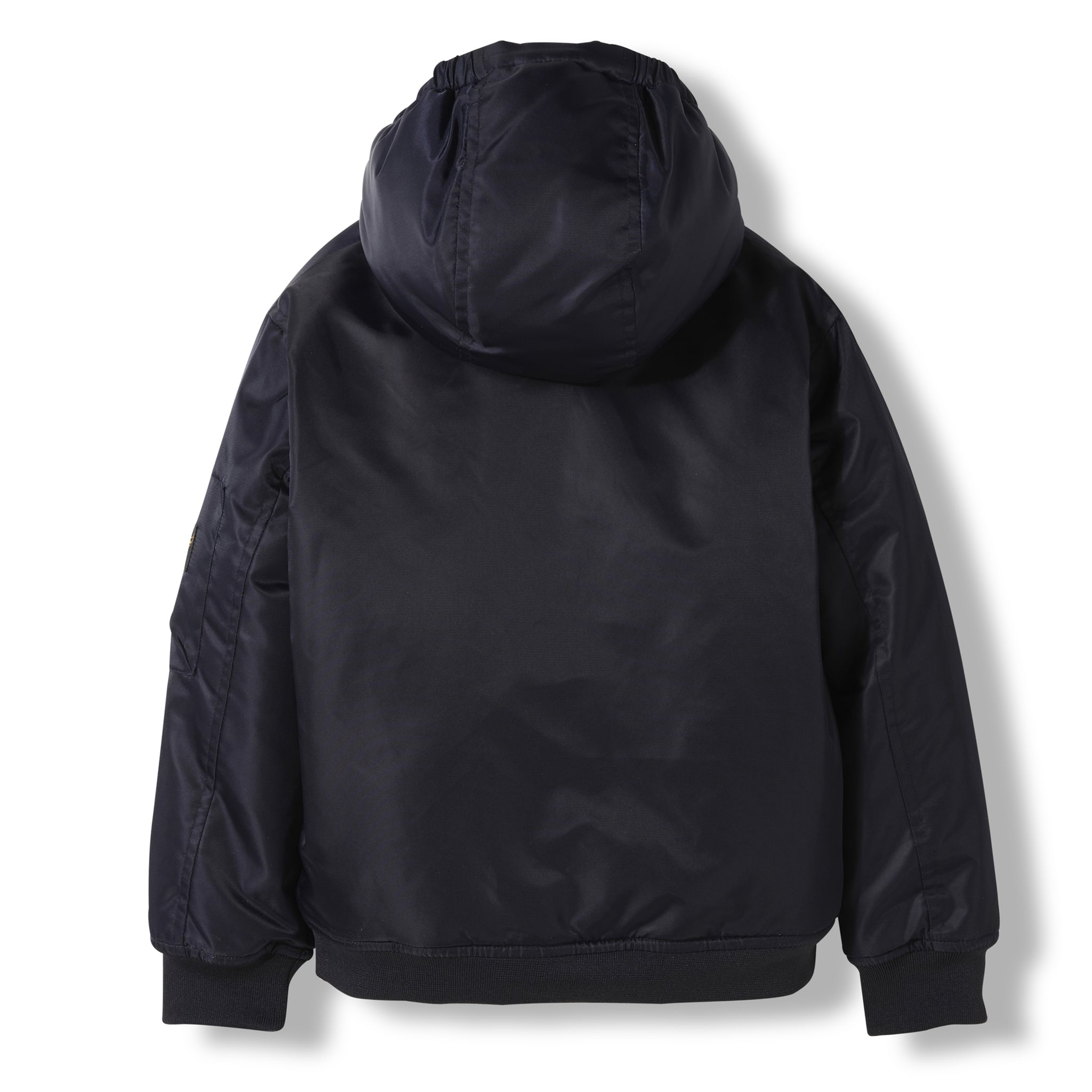 BALTIMORE Night Blue -  Woven Hooded Jacket 4