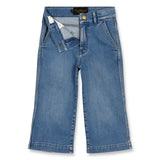 BARBRA Blue Denim - Cropped Large Jeans 2