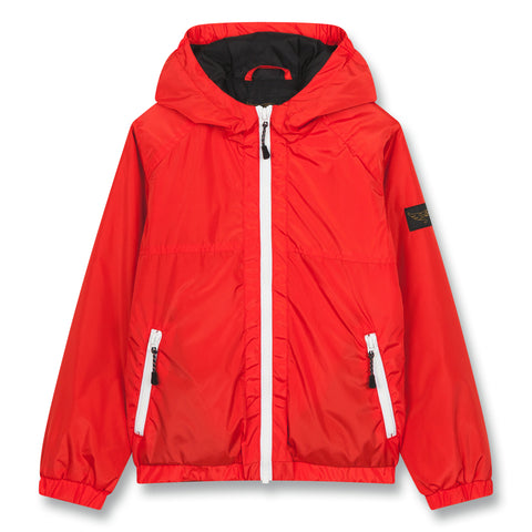 BARKLEY Poppy Red - Hooded Windbreaker 1
