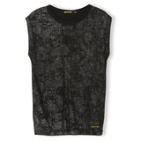 BARRINGTON Black Hologram - Sleeveless T-Shirt