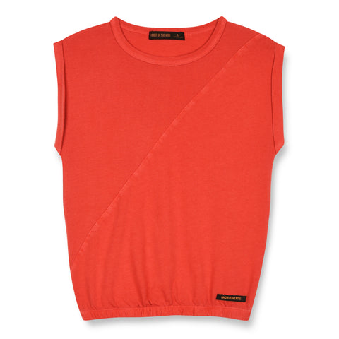 BARRINGTON Poppy Red - Sleeveless T-Shirt 1