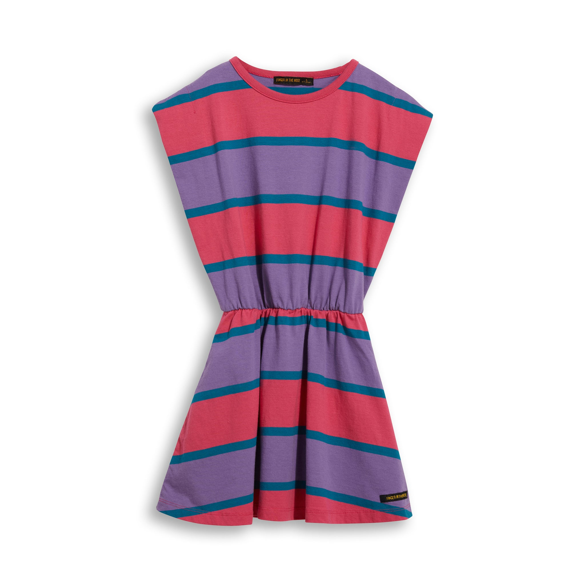 BILLIE Pink Stripes - Sleevesless Dress 1