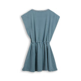 BILLIE Stone Blue Canyon Horse - Sleevesless Dress 2