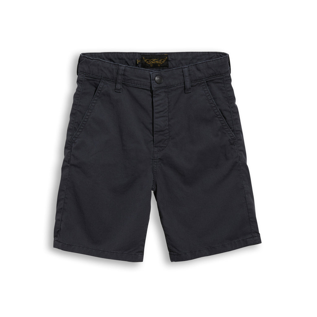BIRDMAN Ash Black - Chino Fit Bermuda 1