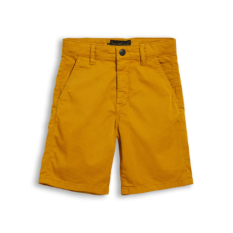 BIRDMAN Old Mustard - Chino Fit Bermuda 1