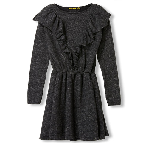 BIRDY Heather Anthracite -  Knitted Dress
