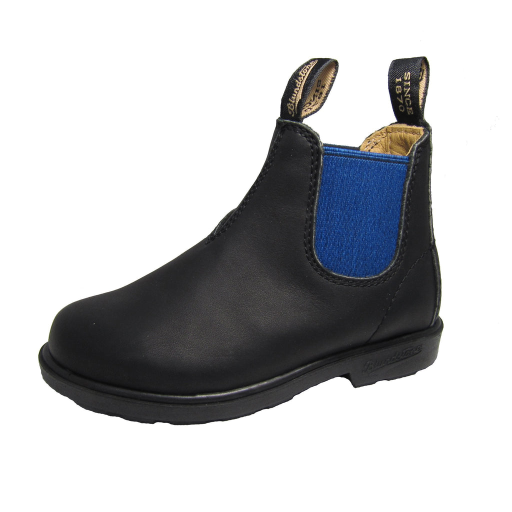 BLUNNIES Black/Blue - Kid's Blundstone 580