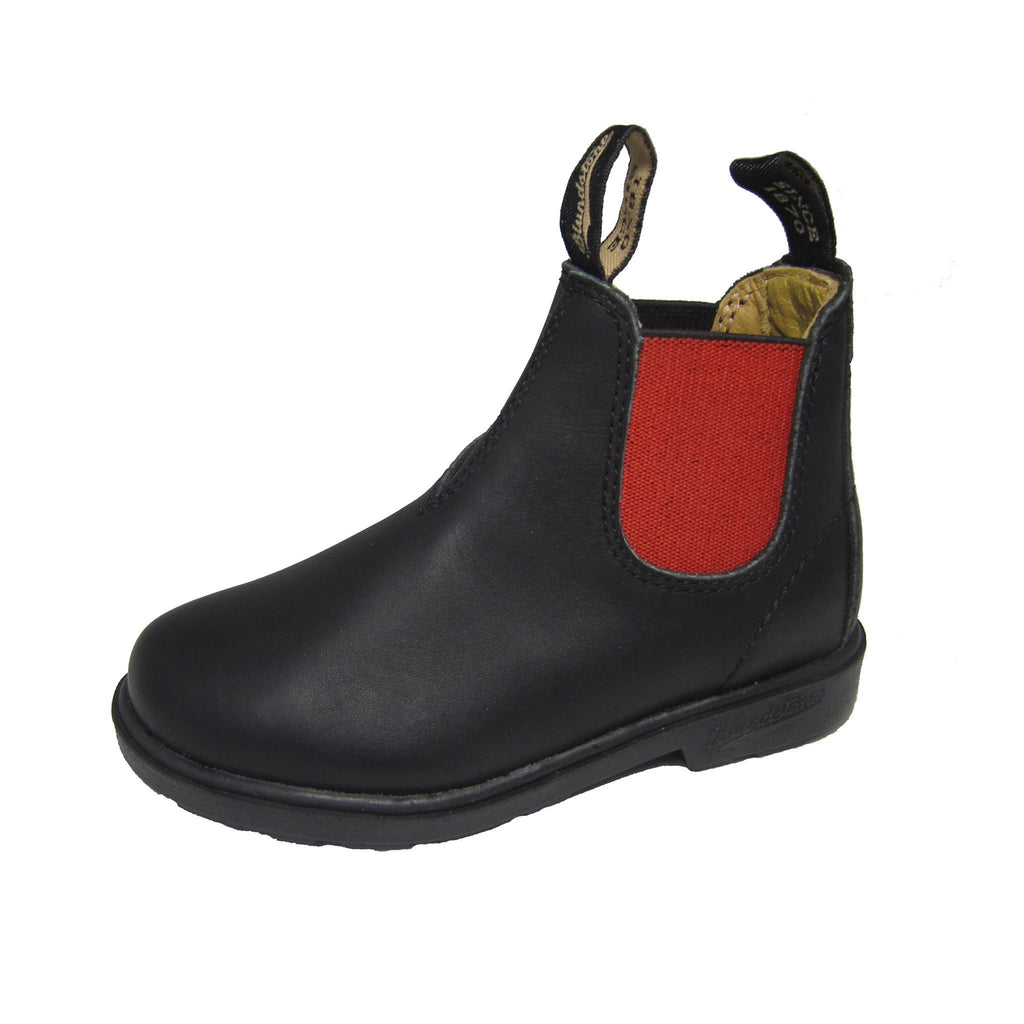 BLUNNIES Black/Red - Kid's Blundstone 581